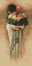 Cross Stitch Kit ~ Dimensions The Rose Lovely Woman in Elegant Dress #70-35331