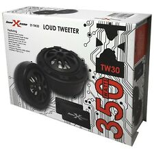 "SoundXtreme ST-TW30 LOUD Tweeters 1"" Component System 350W w/ Crossovers"