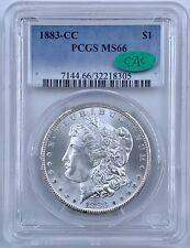 1883-CC Morgan Silver Dollar $1 PCGS MS 66 CAC Verified