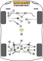 Powerflex Front Bush Kit for Audi A7 Quattro (2012 on)