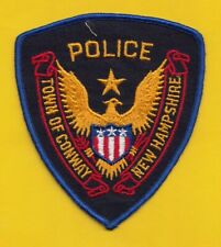 A13 * HTF CONWAY TOWN NH  DEPARTMENT STATE POLICE STOCK EAGLE PATCH
