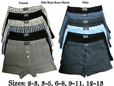 Kids Boxer Shorts Classic Sports Boys Underwear Soft Fabrics Children Briefs