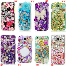 3D Bling Diamonds Soft Cover Case For Various Cell Phones & Crystals wrist strap