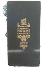 New ListingNational Publishing Company - Railroad Map Of Mass, Conn, Rhode Island
