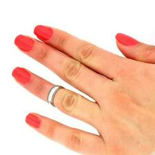 Sterling Silver 925 Plain Knuckle Ring Adjustable Wide Midi Ring T36