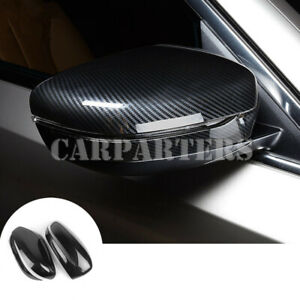 For BMW 7 Series G11 G12 ABS Carbon Fiber Rearview Mirror Trim Cover 2016-2019