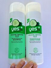 Yes To Cucumber For Colour Treated Hair, Shampoo & Conditioner (Each 6.9 fl oz)