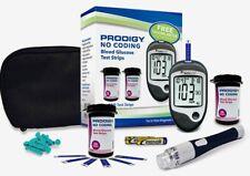 Prodigy Talking AutoCode Glucose Meter - 100 glucose test strips + Free Meter