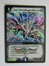 Duel Masters Card - DM-8 Epic Dragons of - S3 Super Necrodragon Abzo Dolba