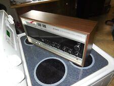 VINTAGE HITACHI KST-3400H FM AM STEREO RADIO w/ CASSETTE PLAYER HI FI AMP WORKS!