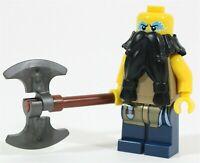 LEGO VIKINGS AXE MAN MINIFIGURE VIKING ARMY CASTLE - MADE OF GENUINE LEGO PARTS