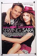 SERVING SARA - Matthew Perry - Original Movie Poster - 2002 Rolled DS C9