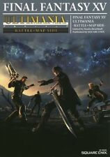"""""""NEW"""" Final Fantasy XV 15 ULTIMANIA BATTLE+MAP SIDE / Japan Strategy Guide Book"""