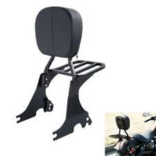 Sissy Bar Schienale + Portapacchi per Harley Sportster XL 1200 XL883 04-18