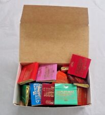 Incense Match Books: Assorted Scented Matches: Box Lot of 20 (600 Strikes!)