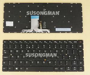 New UK Keyboard For Lenovo Ideapad 710S-13isk 710S-13IKB Laptop backlit black