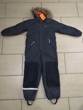 H&M Schneeanzug Gr 140 Jungen Overall Anzug Jeans blau neu