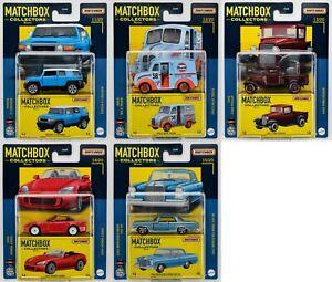 2021 Matchbox Collectors Wave C (5 Vehicles) / Toyota FJ / Divco Gulf / Honda