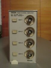 Tektronix 11a34 Amplifier 300 Mhz Bandwidth 4 Channel Oscilloscope Tested