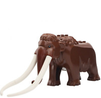 NEW Woolly Mammoth (Arctic) Lego Moc Animal Figure Gift For Kids