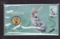 2011 Australian Bush Babies Series The Bilby $1 Coin Stamp Set PNC FDC