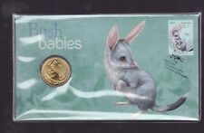 2011 Australian Bush Babies Series The Bilby $1 Coin Stamp Set PNC FDC