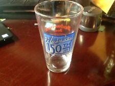 Hoboken NJ Budweiser  Pint Beer Glass 16 Oz Hoboken 150th Anniversary Commem.