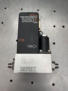 Brooks 5850E Mass Flow Controller Argon 20 SCCM