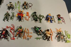 U PICK TMNT 1992 Figures Antrax Chief Leo Splinter Movie April Don most 100% VTG