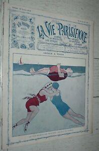 LA VIE PARISIENNE 12-07 1913 FABIANO LEONNEC PREJELAN NAM