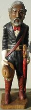 "Union Soldier, Hand Carved Wood,  40"" tall, sns146"