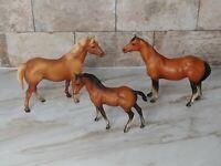 Vtg Breyer Classic Quarter Horse Family Foal Mare Stallion #3045