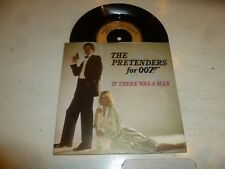 "THE PRETENDERS - If There Was A Man - 1987 UK solid centre 7"" vinyl single"
