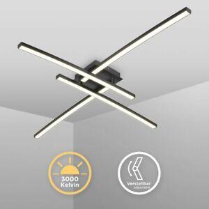 Design Deckenlampe schwarz Wohnzimmer Küche modern Deckenleuchte schwenkbar 20W