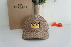 NWT Coach C5390 X Jean-Micheal Basquiat Hat Limited Edition One Size Khaki