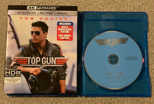 Top Gun (Blu-Ray Disc ONLY + Slipcover/Blank Case) NEVER VIEWED! SEE DETAILS!