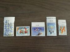 Finland 1991 and 1994 - numbers 832, 874, 941c, 947 and 948 - mint condition