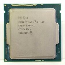 Intel Core i3-4130 3.40GHz Dual Core Quad Thread LGA1150 Intel HD SR1NP EB288
