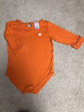 Gymboree Orange Bodysuit Size 6-12 Months