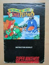 SNES - MANUAL ONLY - Super Mario World 2 - Yoshi's Island