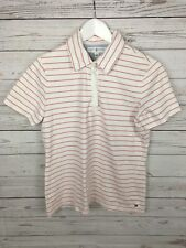 Women's Tommy Hilfiger Golf Polo Shirt - Medium - Striped - Great Condition