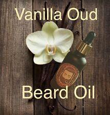 Luxury Vanilla Oud Beard Oil, 30ml/1oz Liquid