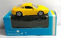 SAINSBURY'S DIECAST VEHICLES - PORSCHE 996 - YELLOW - #6019 - BOXED