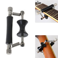 Guitar Auxiliary Capo Glider Metal Rolling Guitar Capo Sliding Tuning C jbBAbw