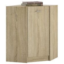 Ferrer Modern Oak Effect Corner Cupboard / Cabinet 60.9cm 60.9cm 85.4cm
