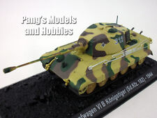 Bengal/King Tiger Tank - Panzerkampfwagen 1/72 Scale Diecast Model by Amercom
