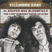 Al Kooper & Mike Bloomfield ‎– Fillmore East: Lost Concert Tapes (2018)  CD  NEW