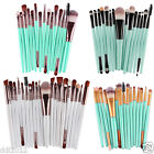 20pcs Pro Soft Goat Hair Makeup Brush Set Foundation Eye Shadow Make Up Brushes