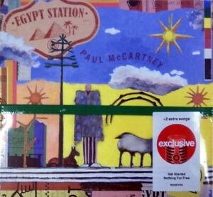PAUL MCCARTNEY Egypt Station TARGET EXCLUSIVE CD w/ 2 Bonus Tracks SEALED NEW !