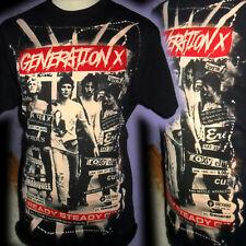 GENERATION X BILLY IDOL 100% UNIQUE    PUNK T SHIRT LARGE BAD CLOWN CLOTHING